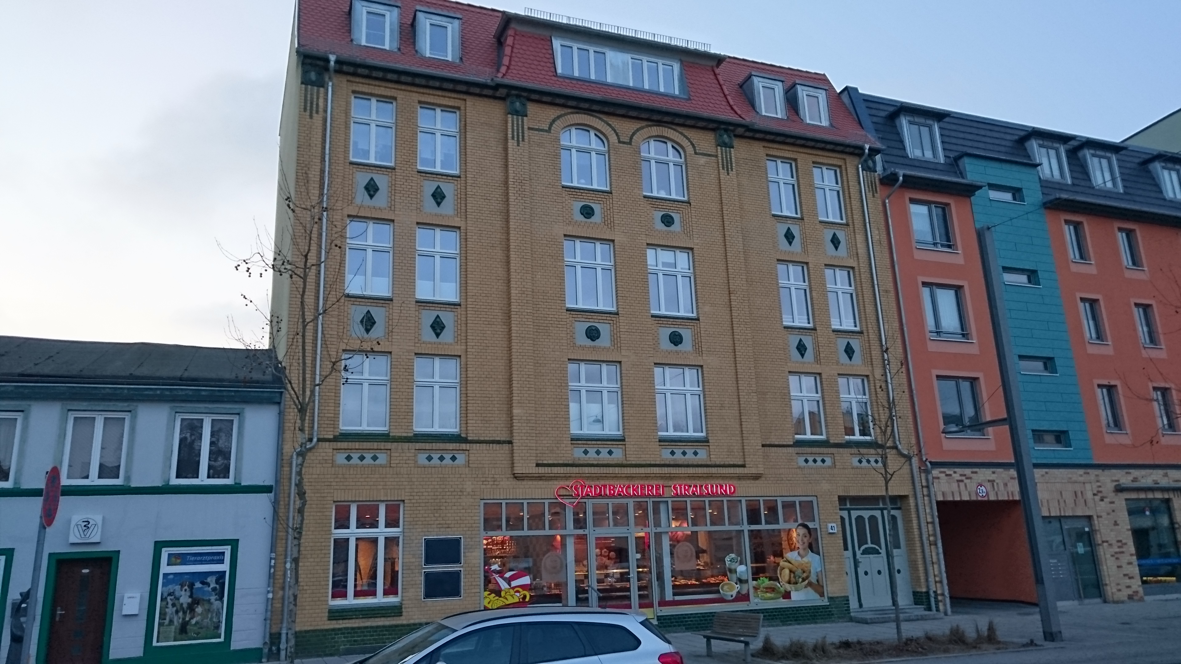 Sanierung WH in Stralsund